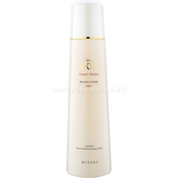 Missha Near Skin Inner Moist Balance Toner NMFУльтраувлажняющий тоник для лица от Missha рекомендован для кожи, которая подвергается вредному воздействию стрессов, солнечных лучей, неблагоприятных факторов окружающей среды, сухого воздуха. Показан к применению женщинам в возрасте от 30 до 40 лет. Косметическое средство мягко воздействует на кожу, постепенно избавляя ее от сухости, тусклого, болезненного оттенка и глубоких морщин.<br><br>Интенсивный увлажняющий продукт возвращает коже эластичность, убирает покраснения и является эффективным профилактическим средством против старения. Богатая формула тоника включает в свой состав натуральный увлажняющий комплекс NMF, состоящий из гиалуроновой кислоты, коллагена и керамидов.<br><br>Продукт идеально подходит для ежедневного ухода за кожей. Он является незаменимым средством на завершающем этапе очищения, убирая с кожи остатки макияжа. После тоника лицо готово к нанесению других средств этой серии косметических продуктов премиум-класса. Интенсивное увлажняющее средство помогает восстановить природную красоту кожи, вернуть ей шелковистость и упругость.<br><br>&amp;nbsp;<br><br>Объём: 130 мл<br><br>&amp;nbsp;<br><br>Способ применения:<br><br>Для нанесения тонера удобно использовать ватный диск, которым необходимо легкими движениями протереть кожу лица.<br>