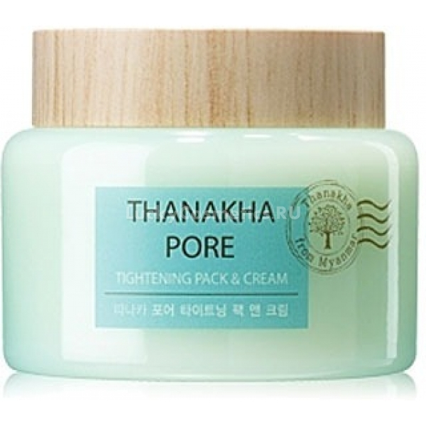 Купить The Saem Thanakha Pore Tightening Pack amp Cream