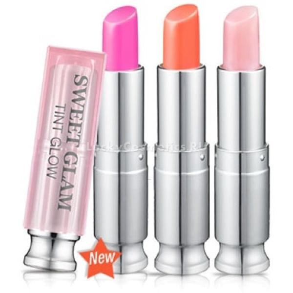 Secret Key Sweet Glam Tint GlowНежнейший бальзам для губ Secret Key Sweet Glam Tint Glow создан для интенсивного смягчения и увлажнения кожи губ. Главная особенность этого бальзама состоит в том, что он с легкостью подстраивается под любой цвет кожи, усиливая натуральный цвет губ. При этом его сочный и насыщенный пигмент может проявить себя в полную силу.<br><br>&amp;nbsp;<br><br>Объём: 3,5 гр<br><br>&amp;nbsp;<br><br>Способ применения:<br><br>Бальзам-тинт нужно нанести на поверхность сухих губ и при желании создать градацию цвета несколькими слоями.<br>
