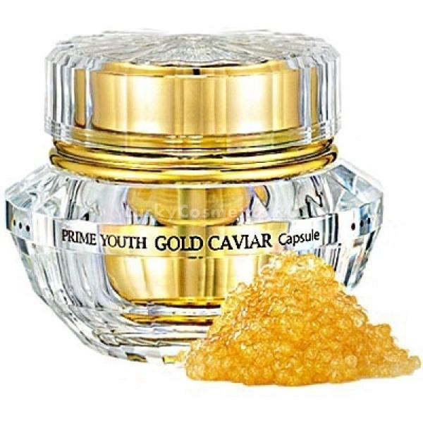 Holika Holika Prime Youth Gold Caviar CapsuleДанный крем, обладающий мощным антивозрастным действием, станет прекрасным ухаживающим средством за увядающей кожей. Продукт обладает консистенцией умеренной густоты, которая прекрасно впитывается даже в самые глубочайшие слои эпидермиса, насыщая их всеми полезными элементами. Средство универсальное, поэтому подходит как вечернего, так и утреннего использования. Крем имеет богатый состав, включающий высокое содержание вытяжек черной икры, морского огурца, водорослей, женьшеня, граната, хвоща, а также ниацинамида и аденозина. Экстракт икры обладает сильнейшим омолаживающим действием, в результате чего исчезают морщинки, а кожа лица становится более эластичной и упругой. Вытяжки морского огурца и водорослей насыщают эпидермис всеми полезными элементами, повышая его иммунитет к негативным условиям внешней среды. Гранат способствует повышению водного уровня в клетках кожи, а также способствует длительному увлажнению, обладая при этом антиоксидантными свойствами. Женьшень и хвощ великолепно тонизируют кожу, стирая с нее признаки нежелательной пигментации. Ниацинамид и аденозин эффективно обновляют эпидермис, способствуя выравниванию тона, а также приданию здорового и сияющего оттенка. Регулярное применение крема Prime Youth Gold Caviar Capsule от корейского бренда Holika Holika позволит вернуть красоту и молодой вид увядающей коже, избавляя ее от признаков старения!Объём: 50 млСпособ применения:Средство необходимо наносить в малом количестве на кожу лица после вечернего и утреннего очищения с помощью массирующих аккуратных движений.<br>