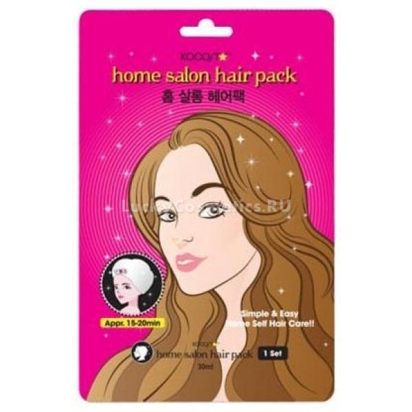 Kocostar Home Salon Hair PackДанная маска является лучшим средством для интенсивного восстановления пересушенной, очень ломкой и поврежденной структуры волос. Изюминка продукта &amp;ndash; наличие своеобразной шапочки, которую необходимо надеть для эффективной регенерирующей деятельности маски. Это позволит обеспечить полное проникновение оздоравливающих компонентов в волосы, а, значит оказать максимальный положительный эффект на даже на самую пористую и истонченную структуру. В составе маски такие ингредиенты, как кератин, коллаген, а также вытяжки портулака, камелии, лаванды, гамамелиса и алоэ вера. Кератин обеспечивает заполнение полых участков волос, делая их более разглаженными, блестящими, а также возвращая жизненную силу. Коллаген дарит структуре эластичность, упругость и объем. Растительные вытяжки великолепно увлажняют, напитывают и смягчают волосы, делая их невероятно шелковистыми. Использование представленного средства позволит вернуть здоровье даже самых проблемным и поврежденным волосам, восстанавливая их, а также делая ухоженными, мягкими, гладкими и блестящими. Побалуйте свои волосы интенсивной восстанавливающей процедурой, используя эту маску от корейского производителя Kocostar!<br><br>&amp;nbsp;<br><br>Объём: 1 шт.<br><br>&amp;nbsp;<br><br>Способ применения:<br><br>На чистые влажные волосы требуется надеть шапочку-маску, закрепив ее, и оставить для действия на 20 минут, после чего смыть.<br>