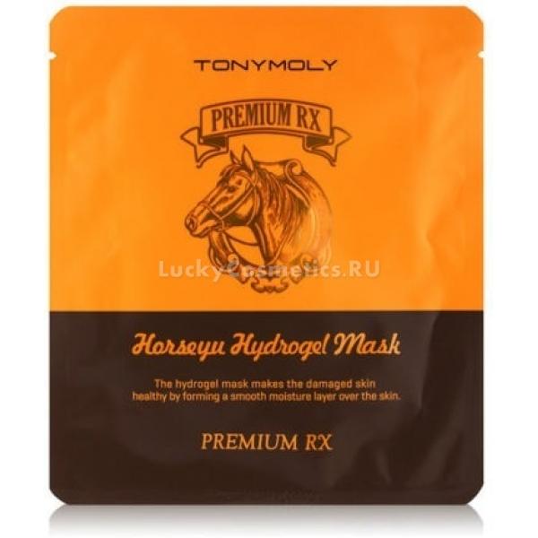 Tony Moly Premium RX Horseyu Gel MaskЭффективная маска для лица от бренда Tony Moly нормализует гидробаланс кожи, действуя направленно и практически мгновенно. Она пропитана особым гидрогелем, который под воздействием тепла кожи растворяется и проникает глубоко в ткани. Маска прилегает к лицу настолько плотно, что воздействует на кроветворение, укрепляет сосудистую сетку и капилляры, обеспечивает глубокое проникновение внутрь кожи всех содержащихся в ней полезных компонентов. Главным среди них является питательный конский жир, который издавна применяли для лечения повреждений кожи и всевозможных воспалений. Множество витаминов и жирных кислот в нем питают кожу, помогают восполнить нехватку влаги и ликвидировать различные недостатки кожи. Лошадиный жир устраняет шелушение, избавляет от сухости, чувства стянутости и нейтрализует очаги воспалений. Также он приостанавливает процесс старения кожи и убыстряет восстановление на клеточном уровне. Эффект заметен уже после однократного использования - гладкая кожа более упругая, шелковистая, морщинки кажутся менее заметны. Маска удобна в использовании, поскольку во время процедуры можно заниматься любыми домашними делами, не боясь, что она сползет с лица.Объём: 25 млСпособ применения:На чистую сухую кожу приложить маску, разгладить. Рекомендуется к применению 1-2 раза в неделю.<br>