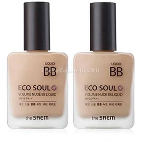 The Saem Eco Soul Volume Nude BB Liquid -  BB/CC кремы