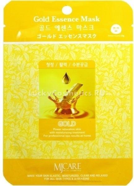 Mijin Cosmetics Gold Essence MaskЭлитная косметика с золотом &amp;ndash; исключение из правила натуральной косметики. Несмотря на искусственное происхождение коллоидного золота, корейский бренд Mijin никогда не стеснялся применять его в самых разнообразных уходовых средствах, что связано с исключительными свойствами этого компонента.<br><br>Gold Essence Mask &amp;ndash; одноразовая маска с коллоидным золотом, которая придает коже неповторимое сияние и блеск, стимулирует клеточный иммунитет, тонизирует капилляры и убирает мелкие морщинки на коже благодаря укреплению тургора в клетках.<br><br>В составе этой маски также содержатся питательные растительные масла ши и жожоба, а также экстракты гамамелиса и портулака, аллантоин и гиалуроновая кислота. Несколькими применениями золотоносной маски можно добиться отличного результата, которому позавидуют клиентки профессиональных салонов красоты.<br><br>&amp;nbsp;<br><br>Объём: 23 мл<br><br>&amp;nbsp;<br><br>Способ применения:<br><br>Основу из нежной хлопковой ткани расправляют на лице, оставляя для воздействия на время от 10 до 15 минут, после чего аккуратно снимают и массируют лицо по направлению массажных линий. Если остатки маски не впитались в течение следующих десяти минут, кожу нужно промокнуть косметической салфеткой.<br>