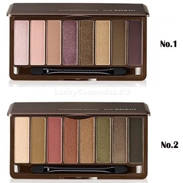 The Saem Eyeshadow Palette -  Макияж