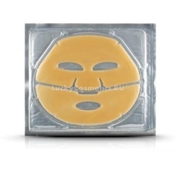 Anskin Natural Gold Pure Milky Modeling MaskКорейский производитель популярных альгинатных средств для кожи лица выпустил серию гидрогелевых масок, которые могут быть приравнены к процедуре у профессионального косметолога. Активными компонентами маски является коллоидное золото и золотая пудра. Научные исследования показали, что коллоидное золото способно сохранять влагу в клетках, способствует саморегуляции подкожных процессов и замедляет процесс старения. Результат не заставит долго ждать, необходимо несколько раз в неделю наносить маску на лицо. Действие маски подобно &amp;laquo;парниковому эффекту&amp;raquo;. Нанесенное средство проникает в глубокие слои кожи за счет частичного растворения компонентов маски под действием тепла, образовавшегося под маской.<br><br>&amp;nbsp;<br><br>Объём: 1 шт<br><br>&amp;nbsp;<br><br>Способ применения:<br><br>1. Умыть лицо и снять макияж 2. Нанести маску. Время действия маски около 30 минут. 3. Снять маску, аккуратно смыть остатки средства<br>