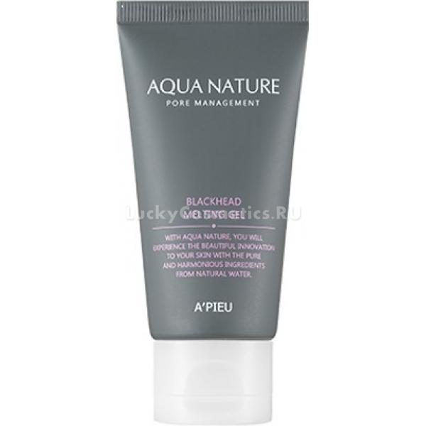 Купить APieu Aqua Nature Blackhead Meling Gel, A'Pieu