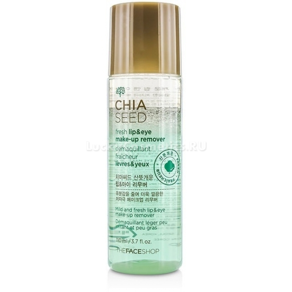 The Face Shop Chia Seed Fresh Lip And Eye MakeUp Remover