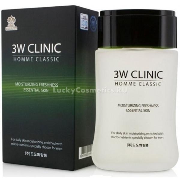 Купить W Clinic Classic Moisturizing Freshness Essential Skin, 3W Clinic