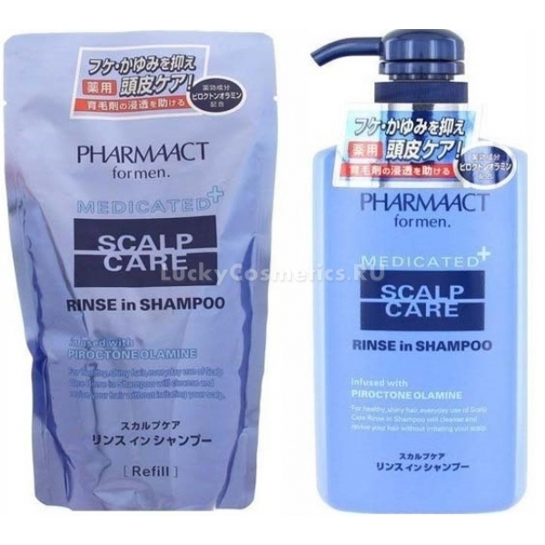 Купить Kumano Cosmetics Pharmaact Scalp Care Rinse in Shampoo