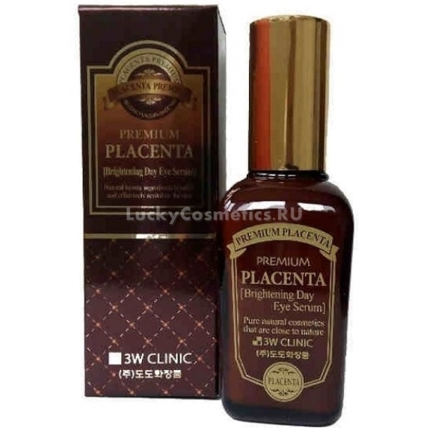 Купить W Clinic Premium Placenta Brightening Day Eye Serum, 3W Clinic