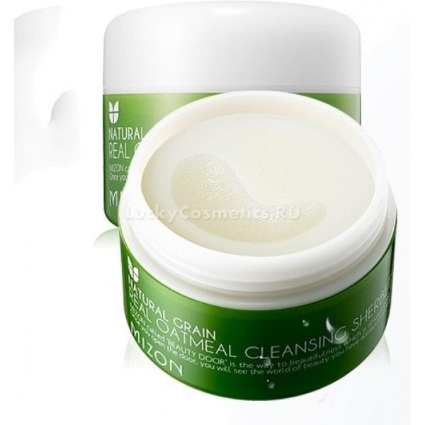 Mizon Real Oatmeal Cleansing Sherbet -  Для лица -  Очищение