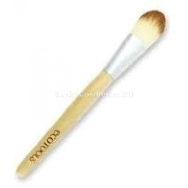 EcoTools Bamboo Foundation BrushКисть для нанесения основы&amp;nbsp;Bamboo Foundation Brush &amp;nbsp;EcoTools. Используйте кисть для нанесения вашей любимой кремовой или жидкой основы под макияж. Кисть безупречно скроет все несоверженства. Ручка изготовлена из бамбука. Ворс кисти - волокно таклон1  1Таклон-&amp;nbsp;синтетическое волокно максимально приближено к натуральному волосу. Кисти из таклона уменьшают количество расходуемой косметики. Идеально моются и сохраняют форму (чего нельзя сказать о кистях из натурального ворса)<br>