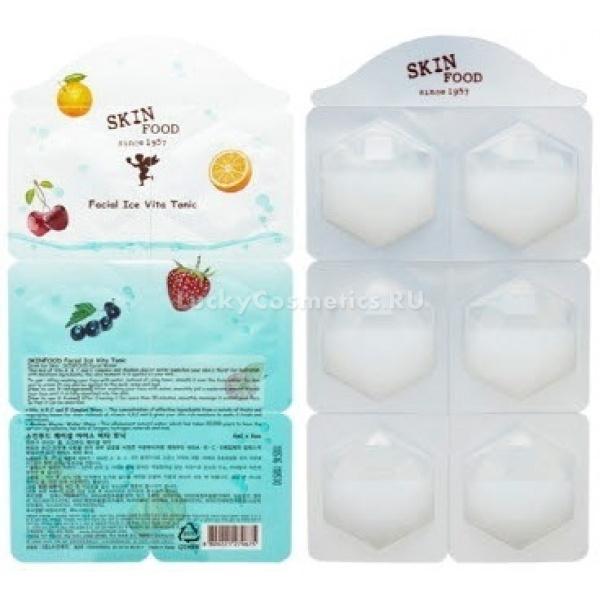 Витаминизированный тоник Skinfood Facial Ice Vita Tonic