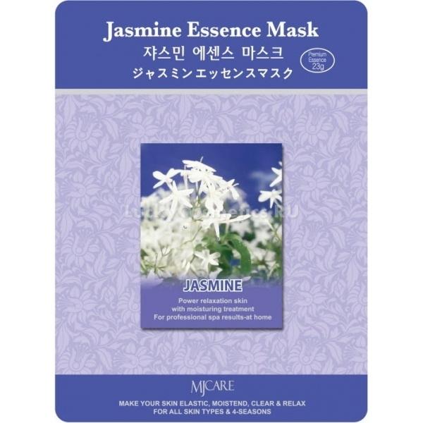 Mijin Cosmetics Jasmine Essence MaskЭкстракт жасмина &amp;ndash; настоящее спасение для сухой кожи с повышенной чувствительностью, он не просто увлажняет кожу и смягчает ее, возвращает ей нормальный тон, убирая все воспаления, но и защищает ее от фотостарения. В жасмине содержится естественный солнцезащитный фактор, а также витамин C, который предотвращает разрушение коллагена.<br><br>В составе маски Jasmine Essence Mask портулак огородный &amp;ndash; освежает кожу и доставляет ей необходимые витамины, экстракт алоэ &amp;ndash; природный антисептик и отличное ранозаживляющиее средство и экстракт гамамелиса &amp;ndash; укрепляет стенки капилляров, усиливает циркуляцию крови и обеспечивает кислородное насыщение тканей. Для усиления эффекта увлажнения в составе маски присутствует гиалуроновая кислота.<br><br>&amp;nbsp;<br><br>Объём: 23 г<br><br>&amp;nbsp;<br><br>Способ применения:<br><br>1. Размять упаковку с тканевой маской, пока эссенция не распределится равномерно, пропитав всю основу.<br><br>2. Подогрейте маску в теплой воде для расслабляющего эффекта или подержите ее в холодильнике полчаса, чтобы маска тонизировала и освежала кожу.<br><br>3. Раскройте упаковку и расправьте маску.<br><br>4. Приложите тканевую основу к чистой коже лица: для рта и глаз в ней есть специальные прорези, а на месте носа есть вырезка для воздействия маски на крылья носа.<br><br>5. Время воздействия &amp;ndash; 15-20 минут.<br><br>6. Тканевая основа снимается спустя положенный отрезок времени, а эссенция, которой она пропитана, остается на коже до полного впитывания. Для усиления воздействия полезных компонентов маски можно вмассировать ее остатки в кожу.<br>