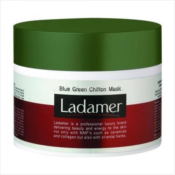 Ladamer Blue Green Chiffon Mask -  Для лица