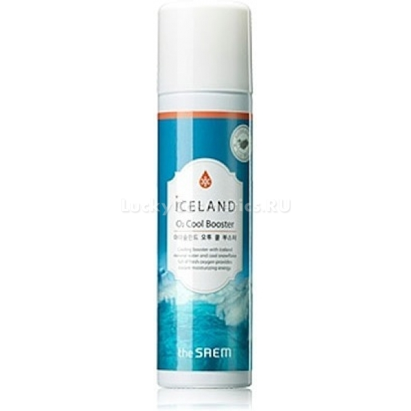 The Saem Iceland  Cool BoosterНовый товар фирмы The Saem &amp;ndash; кислородный бустер на минеральной воде Исландии. Он не только дарит коже увлажнение, но и делает ее эластичной. Также бустер помогает улучшить цвет лица, выравнивая тон. Основные функции нового товара &amp;ndash; интенсивное оздоровление кожи, питание минералами, насыщение кислородом.<br><br>&amp;nbsp;<br><br>Объём: 150 мл<br><br>&amp;nbsp;<br><br>Способ применения:<br><br>Флакон бустера необходимо встряхнуть, перед тем как применять. Необходимо легкими движениями равномерно распределить средство на коже лица, массировать до полного впитывания.<br>