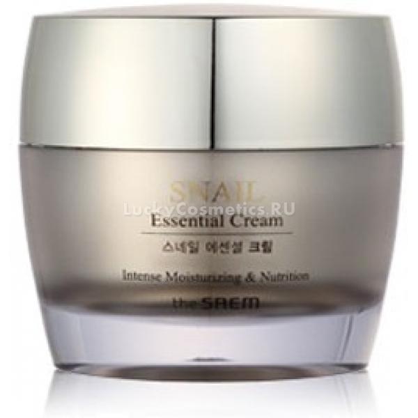 The Saem Snail Essential Cream -  Улиточная косметика