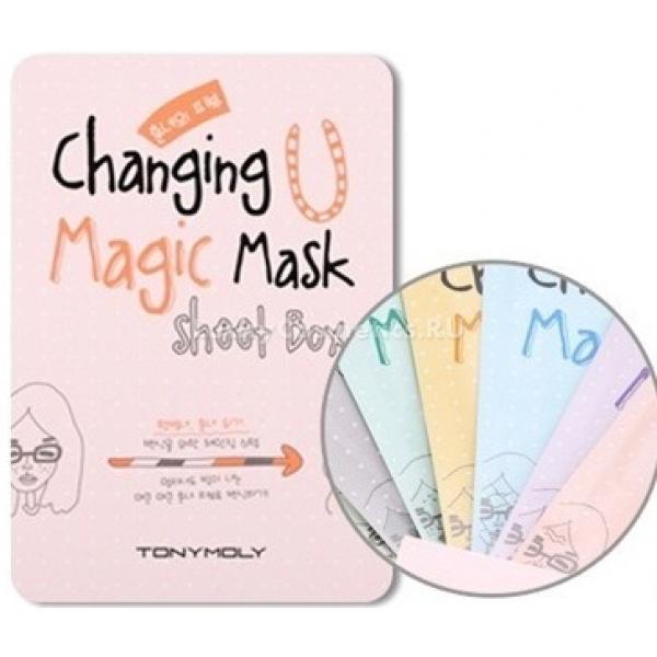 Tony Moly Changing U Magic Mask Sheet Box