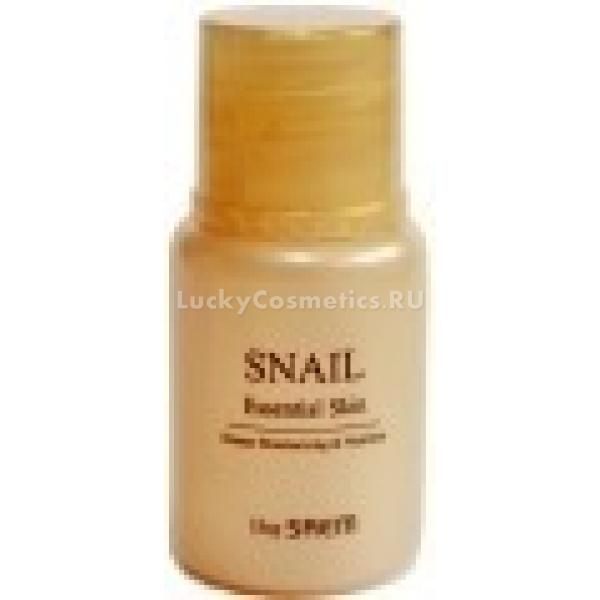 The Saem Sample Snail Essential EmulsionЭмульсия с невесомой текстурой быстро впитывается и моментально снабжает кожу полезными веществами, стимулирующими рост и регенерацию клеток. Обладает выраженным антивозрастным действием – разглаживает кожные заломы и складки, выравнивает микрорельеф и избавляет от мелких морщинок, бережно подготавливая кожу к дальнейшему уходу.<br><br>Среди ее ингредиентов – экстракт золотой улитки, обладающий ранозаживляющими и омолаживающими свойствами, аденозин и ниацинамид, нормализующие работу меланоцитов, ягодные экстракты как источник витаминов для тонуса кожи и компоненты, восстанавливающие структуру межклеточного матрикса кожи – гиалуроновая кислота и коллаген.<br>Результат – гладкая и сияющая кожа без складок, отечности и морщин, более ровный рельеф позволяет декоративной косметике держаться дольше и выглядить естественно.Объём: 5 млСпособ применения:После умывания пенкой и увлажнения мистом на сухую чистую кожу с помощью хлопкового диска наносят эмульсию, уделяя особое внимание участкам с морщинами, постакне и расширенными порами. Средство не нужно смывать, после полного впитывания можно приступить к нанесению косметики.<br>