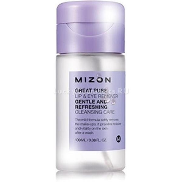 Средство для демакияжа Mizon Great Pure Lip And Eye Remover