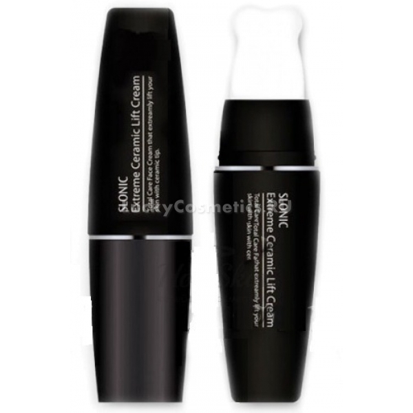 Lioele Slonic Extreme Ceramic Lift CreamМассажный крем с экстрактом восточных трав и питательных масел от Lioele хорошо зарекомендовал себя как уходовое средство для нежной и чувствительной кожи, страдающей от обезвоживания. Керамическая насадка-аппликатор для нанесения средства дает лимфодренажный эффект, уменьшая отечность и усиливая микроциркуляцию, что способствует лучшему усвоению полезных компонентов средства.<br><br>После применения массажного лифтинг-крема овал лица подтягивается, пропадают припухлости и второй подбородок, кожа обретает тонус, а ее микрорельеф разглаживается. Исчезает сеточка мелких морщин, а пигментные пятна осветляются; на идеально гладкую кожу хорошо ложатся средства декоративной косметики, обеспечивая безупречно молодой и сияющий вид. Керамическая насадка позволяет в процессе нанесения средства осуществлять точечный массаж труднодоступных участков лица &amp;ndash; зоны вокруг губ и крыльев носа, нежная кожа вокруг глаз.<br><br>&amp;nbsp;<br><br>Объём: 35 мл<br><br>&amp;nbsp;<br><br>Способ применения:<br><br>Лифтинг-крем распределяют по чистой сухой коже лица после умывания и тонизирования, но перед нанесением средств для мейк-апа. Нанесение крема проводится по направлению массажных линий специальным керамическим аппликатором; прежде, чем приступить к другим уходовым процедурам, нужно дать средству несколько минут для впитывания.<br>