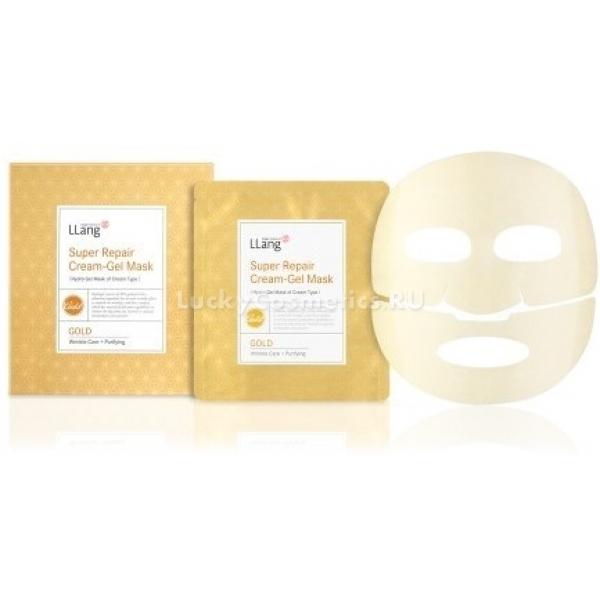Llang Super RepairРоскошная маска для лица с экстрактом золота сделает вашу кожу по-настоящему красивой и молодой. Экстракт благородного металла имеет широкую область применения и по-настоящему чудодейственные свойства.<br>Экстракт золота, который содержится в данной маске для лица оказывает сильный бактерицидный эффект. Оно не окисляется и не имеет в своём составе оксиды, поэтому влияние на кожу является потрясающим. Золото отлично активирует и насыщает кожу кислородом, а также значительным образом усиливает циркуляцию крови. Кожа обновляется и омолаживается на клеточном уровне.<br>Экстракт лотоса, который входит в состав маски, смягчает кожу и увлажняет её. Также он успокаивает раздражения и покраснения, поскольку имеет сильный противовоспалительный эффект. Активность клеток кожи стимулируется, процессы старения замедляются, а морщины заметно уменьшаются.Объём: 5 шт.Способ применения:Маска наносится на очищенную кожу лица, после чего её нужно равномерно распределить. Оставить её нужно на 20 минут, а после нужно удалить оставшуюся эссенцию, вмассировав её в отдельные участки кожи.<br>