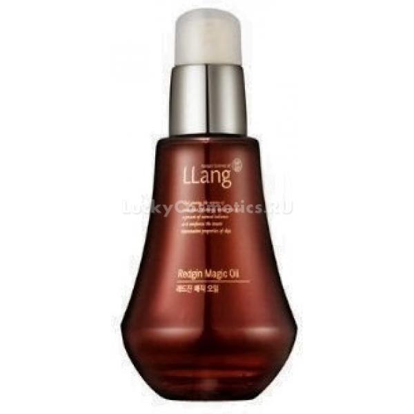 Llang Redgin Magic OilДанное косметическое средство глубоко питает и увлажняет сухую кожу лица. В нём содержится экстракт и масло красного женьшеня, за счёт которого можно достичь лучших результатов. Экстракт женьшеня обеспечивает синтез и обновление эластина и коллагена, он отличным образом защитит кожу от каких-либо воздействий, восстановит её тонус и упругость, а также значительно уменьшит и разгладит морщины.<br>Также это средство имеет антисептическое действие, поскольку в основе маски лежит витамин Е, гиалуруновая кислота, портулак, экстракт гамамелиса и гидролизованный коллаген.<br>Использование такой маски позволит вам наслаждаться мягкой и упругой кожей, которая имеет здоровый блеск и сияние.Объём: 50 млСпособ применения:Наложить маску нужно на очищенную кожу лица при помощи массажных движений. Необходимо дать ей 30 минут для того, чтобы она полностью впиталась.<br>