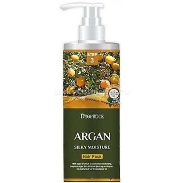 Deoproce Argan Silky Moisture Hair Pack -  Для волос