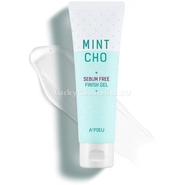 Купить APieu Mintcho Sebum Free Finish Gel, A'Pieu
