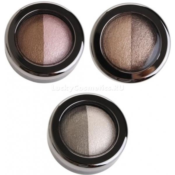 Baviphat Magic Girls Dual Eye ShadowДвойные тени Magic Girls Dual Eye Shadow от корейской компании Baviphat выпускаются в трех комбинациях натуральных оттенков. В каждой компактной коробочке находится 2 цвета, которые идеально сочетаются и позволяют создать как натуральный образ, так и выразительный, яркий вечерний макияж. Цветовые комбинации предложены производителем, и не нужно беспокоиться о том, подходит ли один цвет другому.<br>Эти тени твердые, и это значительно облегчает их нанесение. Благодаря своей структуре они не пылят, не осыпаются в течение дня, не скатываются в складках века, наносятся равномерно. Макияж будет стойким и сохранится на весь день.<br>В состав двойных теней входят полезные вещества, которые обеспечивают защиту и уход. После нанесения теней можно не беспокоиться о вредном воздействии солнечных лучей.<br>Тени имеют перламутровый перелив, который создает трехмерный эффект на веках и делает взгляд более глубоким и выразительным.Объём: 6 гр.Способ применения:Наносить тени можно различными способами – при помощи аппликатора или кисти. Растушевывать их следует аккуратными легкими движениями. От степени нажатия аппликатора зависит интенсивность цвета. Чтобы добиться наиболее яркого цвета следует увлажнить аппликатор.<br>