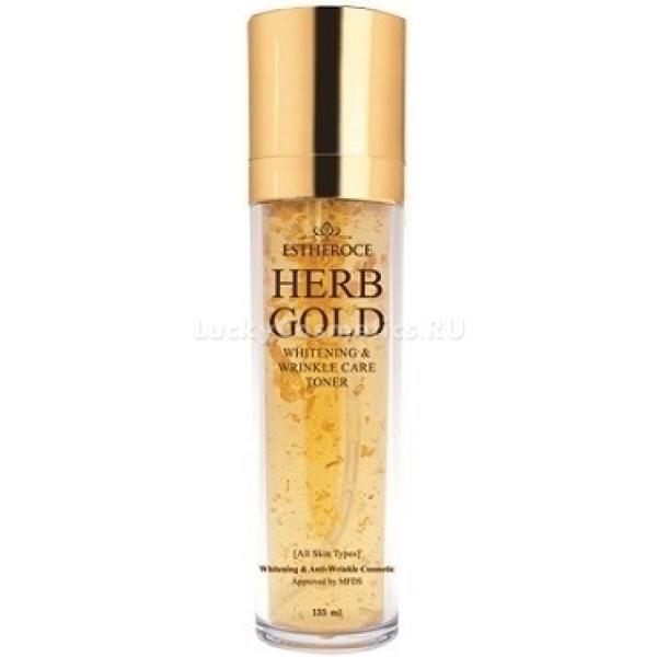 Купить Deoproce Estheroce Herb Gold Whitening amp Wrinkle Care Toner