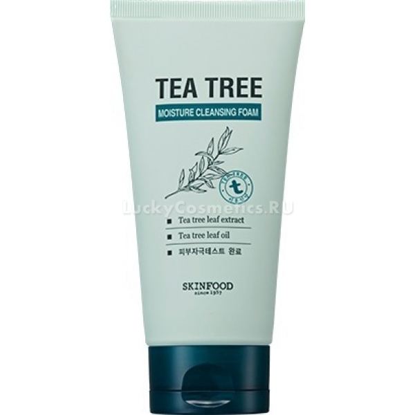 Skinfood Tea Tree Moisture Cleansing Foam -  Для лица
