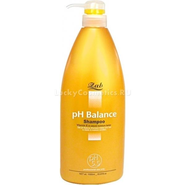 pH Zab pH Balance ShampooТщательное очищение волос и кожи головы гарантирует их здоровье и силу. Именно руководствуясь этими аспектами группа специалистов компании Zab создала идеальное очищающее средство. Шампунь pH Balance Shampoo помогает не только глубоко очистить волосы, но и заботится о восстановлении травмированных волос. Густая пышная пена проникает между волосинками и прочно захватывает ионы металлов, пыль и избытки кожного сала, растворяя их и выводя из организма. Продукт обеспечивает максимальное очищение, снимает раздражение и устраняет причину перхоти &amp;ndash; грибок. При этом щадящая формула не вредит коже, не сшит и не вызывает дискомфорта. Напротив, создает оптимальный уровень влажности, контролирует работу сальных желез и обладает эффектом дезодорирования. А активные компоненты средства интенсивно питают клетки, заполняют трещинки в волосах и дарят им гибкость и сияние. Идеально справляется с непослушными, секущимися и тонкими волосами. Обеспечивает увеличение объема волос до 10%.<br><br>&amp;nbsp;<br><br>Объём: 1000 мл.<br><br>&amp;nbsp;<br><br>Способ применения:<br><br>На мокрые волосы выдавите необходимое количество средства и помассируйте в течение 2 &amp;ndash; 3 минут, до образования пены. Смойте средство проточной водой. Для лучшего терапевтического эффекта специалисты рекомендую т использовать кондиционер Zab pH Balance Conditioner.<br>