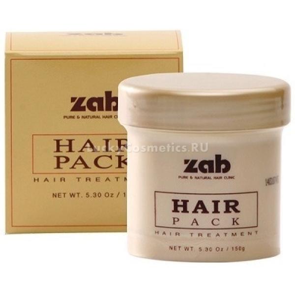 Zab Hair Pack TreatmentКорейские технологии не стоят на месте и поэтому мы имеем уникальную возможность ухаживать за своими волосами с интенсивной силой. Средство от Zab активного воздействия, помогает мгновенно восстановить травмированные волосы, вернуть им красоту и сияние. Маска содержит уникальный липопротеиновый комплекс, который интенсивно питает, активирует рост волос и укрепляет их структуру.<br><br>Благодаря уникальной технологии захвата и расщепления аминокислот, средство мгновенно проникает даже в мельчайшие трещинки волос и заполняет их, предотвращая ломкость, потерю силы и блеска. Средство щадящего действия, обеспечивает сохранение природного уровня влажности кожи головы, прекрасно дезодорирует и кондиционирует волосы. Снижает риск пагубного влияния ультрафиолета, соленой морской и жесткой воды. Делает процесс укладки менее травматичным и болезненным. Препятствует спутыванию волос, снижает статическое напряжение и дарит локонам легки пружинящий объем.<br><br>Как экпресс &amp;ndash; помощь: нанесите средство на чистые мокрые волосы и помассируйте в течение 2 &amp;ndash; 3 минут, после чего промойте водой.<br><br>&amp;nbsp;<br><br>Объём: 150 мл.<br><br>&amp;nbsp;<br><br>Способ применения:<br><br>Для глубокого восстановления: на чистые мокрые волосы нанесите средство и распределите по всей длине при помощи гребешка. Оставьте на 20 &amp;ndash; 25 минут под воздействием тепла. После указанного времени смойте водой.<br>