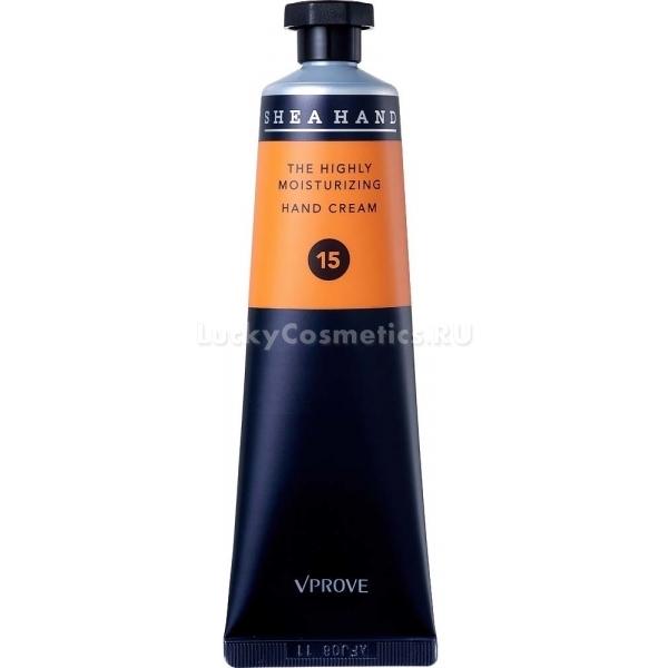 Vprove Shea Hand CreamShea Hand Cream – помогает не только восстановить сухую кожу, но и поддержать ее здоровье в течение всего года. Питательный крем содержит в своем составе 15% экстракта масла ши. Который восстанавливает мягкость и эластичность кожи. Средство обладает сильным терапевтическим эффектом, поддерживает оптимальный уровень влажности в клетках, устраняет заусенцы и морщинки. Средство разработано специально для сухой, чувствительной и увядающей кожи рук. Создает на поверхности кожи плотный защитный барьер, предотвращающий негативное влияние ультрафиолета, стрессов и жесткой воды. Не оставляет на коже следов жирности и липкости, дарит чувство комфорта и увлажненности.<br>Масло ши глубоко увлажняет и питает сухую кожу, заполняет и выравнивает морщинки, укрепляет тонкую кожу и тонизирует ее.Объём: 50 мл.Способ применения:На чистую кожу нанесите необходимое количество средства и дайте впитаться.<br>