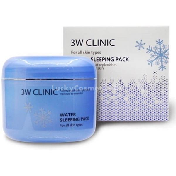 Купить W Clinic Water Sleeping Pack, 3W Clinic
