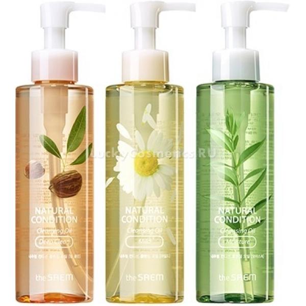 Купить The Saem Natural Condition Cleansing Oil