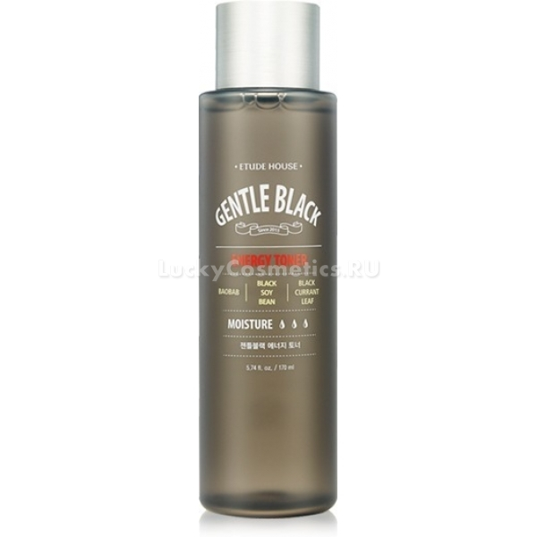 Etude House Gentle Black Energy Toner