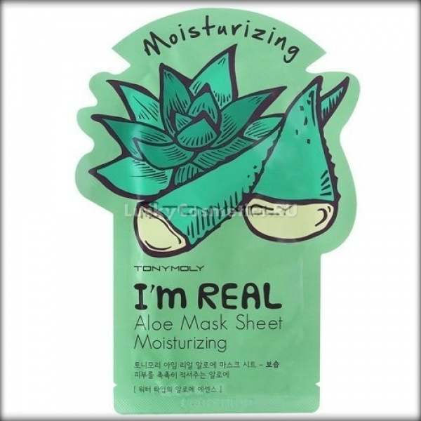Tony Moly Im Real Aloe Mask Sheet