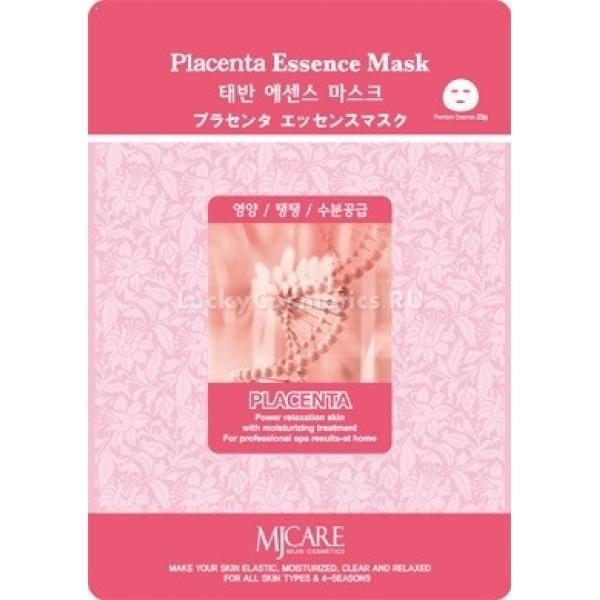 Mijin Cosmetics Placenta Essence MaskПлацентарная маска Placenta Essence Mask от Mijin Cosmetics окажет омолаживающее действие, заметное уже после первого применения. Богатство активных пептидов, иммуностимулирующих веществ, аминокислот и ферментов обеспечивают синтез новой белковой основы клеточного матрикса эпителия. Благодаря этому повышается упругость кожи, исчезают морщинки, удаляются вредные метаболиты, лицо очищается от пигментных пятен и старого, омертвевшего слоя эпителия.<br><br>&amp;nbsp;<br><br>Объём: 23 г<br><br>&amp;nbsp;<br><br>Способ применения:<br><br>Предварительно вымойте руки и лицо, по возможности примените тоник. Извлеките тканевую основу и наденьте её на лицо. Затем подождите 20 минут, удобно устроив голову в горизонтальном положении. После этого снимайте ткань, а остатки эссенции вбейте в кожу подушечками пальцев, затем не забудьте умыться тёплой водой. Регулярное использование маски &amp;mdash; два-три раза в неделю.<br>