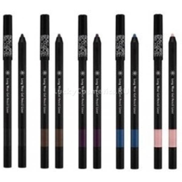 Missha The Style Long Wear Gel Pencil LinerСоздать стильный макияж и яркий образ с коллекцией косметических карандашей от Missha легко! В линейке подобрано пять великолепных оттенков &amp;ndash; Black Queen (№ 1), Chocolate Brown (№ 2), Sangria Plum (№ 3), Tropical Kiss (№ 4), Sugar Land (№ 5).<br><br>&amp;nbsp;<br><br>Объём: 0,4 г<br><br>&amp;nbsp;<br><br>Способ применения:<br><br>Нанести карандашом линии на верхнее веко. Линию желательно начинать от внутреннего уголка к внешнему. На нижнее веко следует нанести контур у основания роста ресниц.<br>