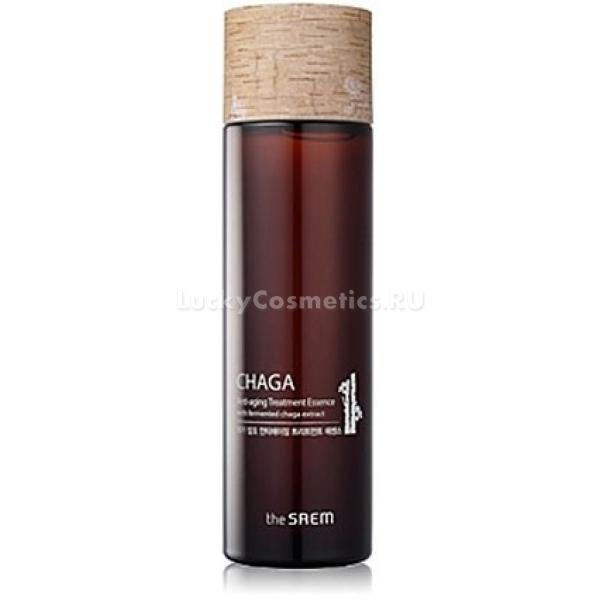 The Saem Chaga Antiaging Treatment EssenceПомимо очищающих средств и кремов, возрастной коже необходимы особенные средства, которые восполняют все потребности в питании и подготовке к нанесению крема. Антивозрастная обогащающая эссенция Chaga от The Saem – средство, которое обеспечит вам непревзойденный результат! Благодаря ферментированному грибу чага в составе, она способна подарить вашей коже молодость и здоровье. Наивысшая концентрация полезных веществ позволяет быстро напитать кожу, сделав ее красивой и вернув ей яркий и сияющий вид. Процесс омоложения кожи невозможен без обогащающей эссенции, содержащей в себе быстровпитываемые вещества. Эта эссенция также выступает превосходным релаксантом для вашей кожи, позволяя стереть все следы усталости от тяжелого дня или даже недели. Если необходимо очень быстро привести себя в порядок – она станет незаменимой.Объём: 65 млСпособ применения:Наносите эссенцию с экстрактом гриба чага после тонизирования кожи. Она напитает, обогатит кожу и снимет все следы усталости, прекрасным образом подготовив кожу к нанесению крема. Достаточно нескольких капель эссенции, нанесенных на ватный тампон, чтоб освежить все лицо и помочь процессу омоложения вашей кожи.<br>
