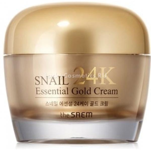 The Saem Snail Essential K Gold Cream -  Улиточная косметика