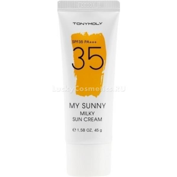 SPF Tony Moly My Sunny Milky Sun Cream SPF