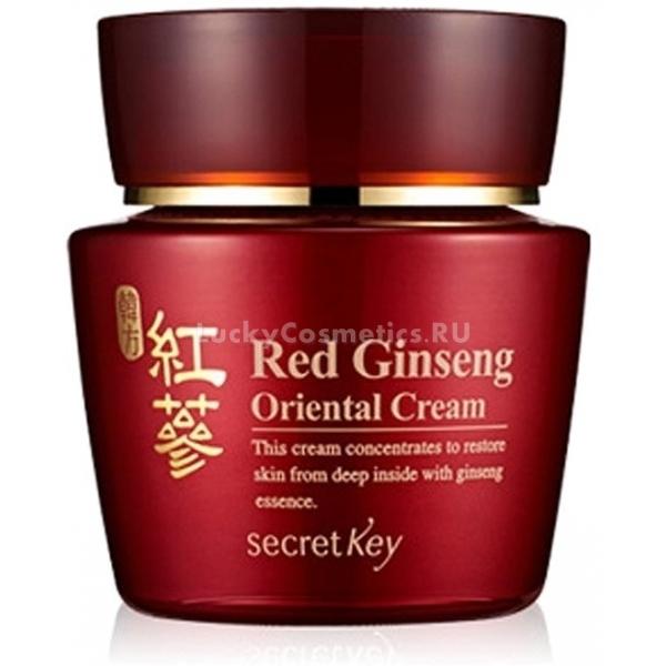 ���� � ���������� �������� �������� Secret Key Red Ginseng Oriental Cream
