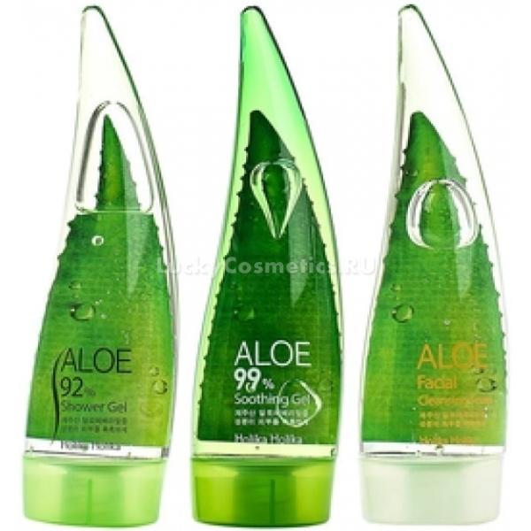 Holika Jeju Aloe Face and Body Care Set