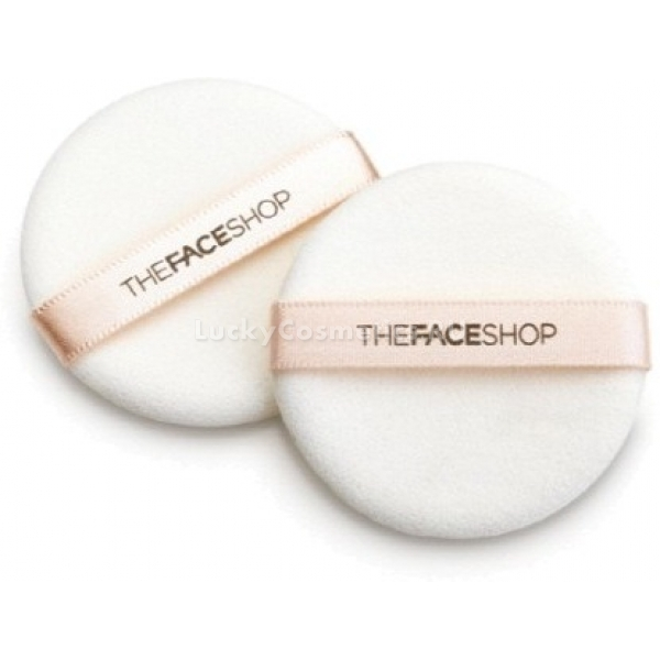 The Face Shop Daily Beauty Tools Round Rubber Puff