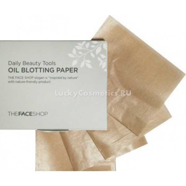 Купить The Face Shop Daily Beauty Tools Oil Blotting Paper