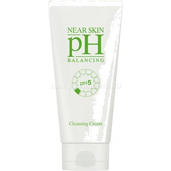 Missha Near Skin pH Balancing Cleansing CreamНесмываемый очищающий крем с названием NearSkin pH Balancing Cleansing Cream от Missha станет отличным помощником в деле поддержания оптимального, здорового pH-баланса кожи. Обязательно ли поддерживать здоровый pH? Да, ведь это поможет вашей коже быть здоровой и красивой, а также обеспечит комфорт &amp;ndash; полную победу над сухостью и раздражениями.<br><br>В состав несмываемого крема входят масла виноградных косточек и макадамии. Они напитают кожу и сделают ее увлажненной, обеспечат защиту от негативного влияния, происходящего из внешней среды.<br><br>Поддерживают действие масел экстракты восточных растений. Они дарят коже необходимую влагу и сохраняют ее глубоко внутри &amp;ndash; в нижних дермальных слоях. В результате баланс влаги поддерживается на должном уровне, и чувство комфорта не покидает вас целый день.<br><br>Особенность этого очищающего крема &amp;ndash; удобный способ применения. Средство не нужно смывать.<br><br>&amp;nbsp;<br><br>Объём: 170 мл<br><br>&amp;nbsp;<br><br>Способ применения:<br><br>Нанесите очищающий крем на сухую кожу. Обратите внимание, что руки тоже должны быть сухими. Помассируйте кожу, а остатки крема после сотрите сухой салфеткой. При желании после лицо вы можете ополоснуть водой.<br>